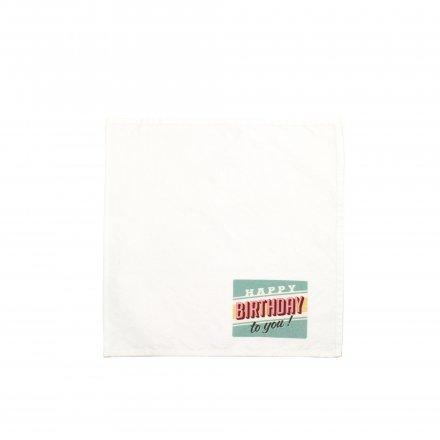 Prints Napkin printed
