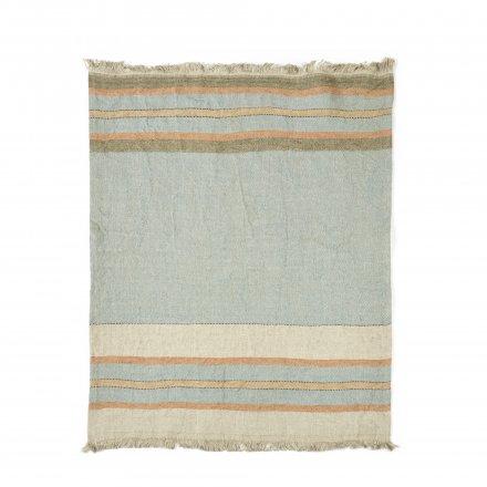 The Belgian Towel Fouta Multi stripe 110x180cm