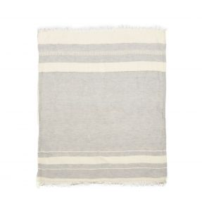 The Belgian Towel Fouta Gent stripe 43x71""
