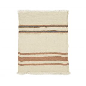 The Belgian Towel Fouta Harlan stripe 110x180cm