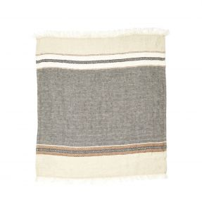 The Belgian Towel Fouta Beeswax stripe 43x71""