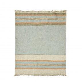 "The Belgian Towel Fouta Multi stripe 43x71"""