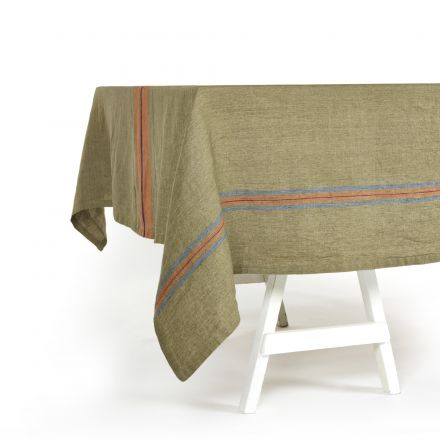 ST Jacob's Stripe Tablecloth