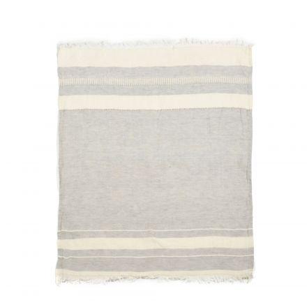"The Belgian Towel Fouta Gent stripe 43x71"""
