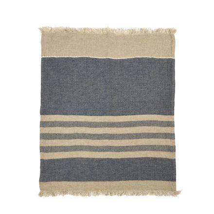 The Belgian Towel Fouta Sea stripe 110x180cm