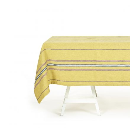 The Patio Stripe Tablecloth