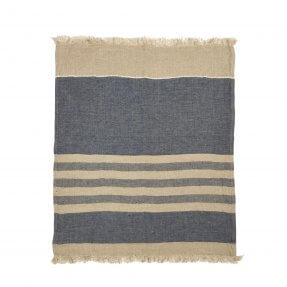 The Belgian Towel Fouta Sea stripe 110x180cm