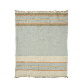 The Belgian Towel Fouta Multi stripe 110x180cm