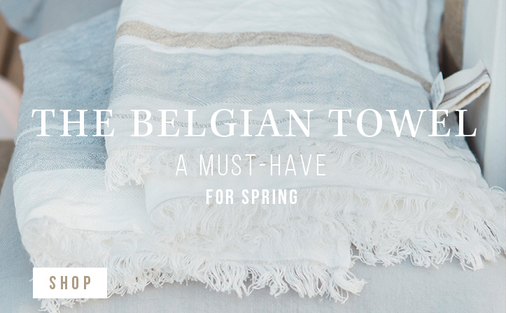 The Belgian towel - A must-have for spring