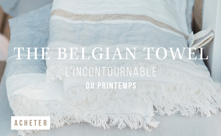 The Belgian towel - L'incontournable du printemps