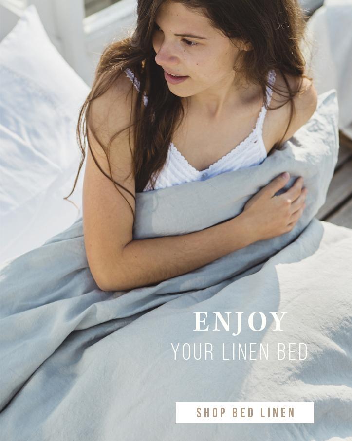 Enjoy your linen bed
