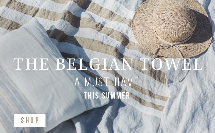 The Belgian towel - A must-have for summer